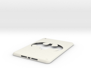 iPad mini Batman Case in White Natural Versatile Plastic