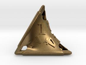 Stretcher d4 in Natural Bronze