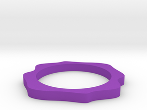 Sinus ring in Purple Strong & Flexible Polished