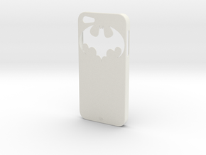 iPhone 5 Batman Case in White Strong & Flexible