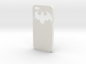 iPhone 5 Batman Case in White Natural Versatile Plastic