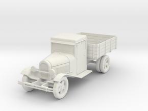 PV21 Model AA Truck (28mm) in White Natural Versatile Plastic