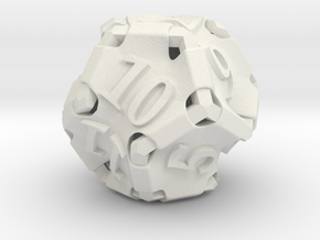 Stretcher d12 in White Natural Versatile Plastic