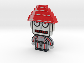 DevoBots Series 1 B/W & Red STRIPE Jerry in Full Color Sandstone