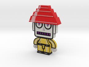 DevoBots Series 1 Yellow Bio Suit Bob 2 in Full Color Sandstone