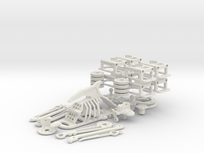Armature kit 301112 in White Strong & Flexible