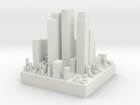anothercity in White Natural Versatile Plastic
