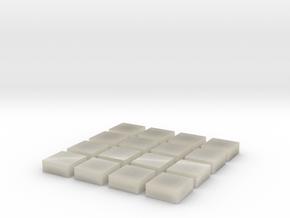 Baldosa 1 (x16) in White Acrylic