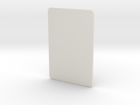 iPad Mini  in White Natural Versatile Plastic