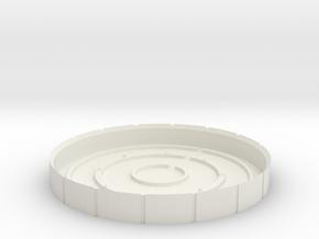 Arc Reactor #2 A in White Natural Versatile Plastic