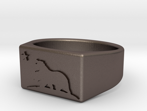 Size 12 - The New California Republic ring in Stainless Steel