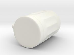 Beer Mug in White Natural Versatile Plastic