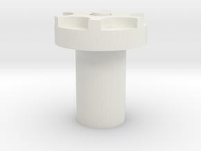 2 1mm Kill Key Obi Top in White Natural Versatile Plastic