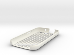 honey Comb Galaxy S3 case (repaired) in White Natural Versatile Plastic