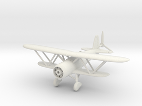 1/144 Fiat CR.42 in White Strong & Flexible