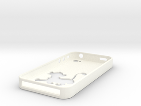 Simba Iphone 4 Case in White Processed Versatile Plastic