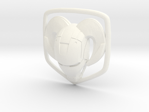 IronRam1.1 in White Processed Versatile Plastic