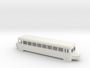 On16.5 railbus bogie long in White Strong & Flexible
