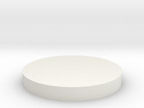 exponential horn cap in White Natural Versatile Plastic