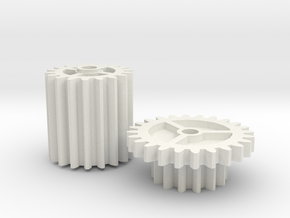 Bug-A-Salt 1.0 compatible gears in White Natural Versatile Plastic