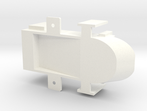 feeder body in White Processed Versatile Plastic