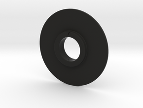 friction Ring 2 in Black Natural Versatile Plastic