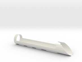 QGJ Style Shroud  in White Natural Versatile Plastic
