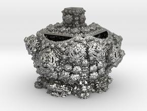 Fractal Urn in Natural Silver