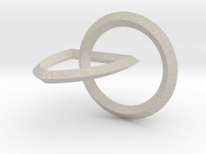 Interlocking Seals — Medium in Natural Sandstone