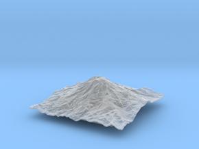 4'' Mt. Rainier, Washington, USA in Smooth Fine Detail Plastic