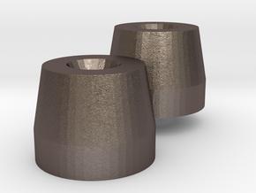 ZB - Schwungmasse für Gebus D7 in Polished Bronzed Silver Steel