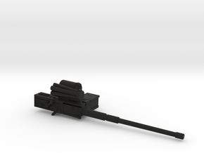 Joe compatible Combat Automaton Tactical Supe in Black Natural Versatile Plastic