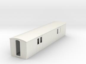 OO9 Modern Luggage van  in White Natural Versatile Plastic