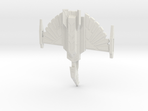 Fire Hawk Cruiser - block nacelles in White Strong & Flexible