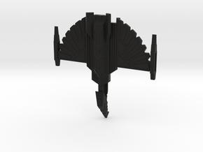 Fire Hawk Cruiser - block nacelles in Black Strong & Flexible
