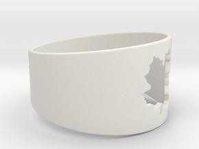 SugarMaple - Size 15 in White Natural Versatile Plastic