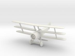 Sopwith Triplane (Various Scales) in White Natural Versatile Plastic: 1:144