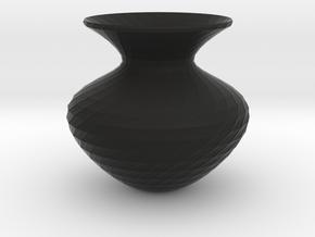 Flower Vase in Black Strong & Flexible
