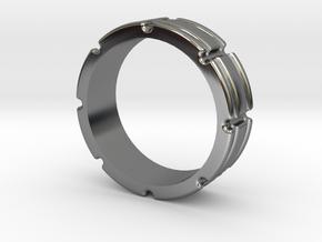 Century Band US 9.5 in Premium Silver