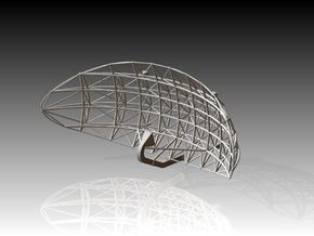 Voshkod Elliptical Radar Dish 1/72 in Smooth Fine Detail Plastic