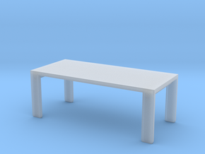1:10 Scale Model - Table 04 in Smooth Fine Detail Plastic