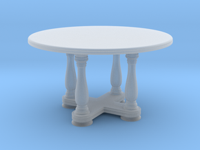 1:10 Scale Model - Table 02 in Smooth Fine Detail Plastic