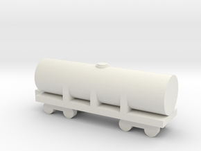 1/700 Oil Tank in White Natural Versatile Plastic