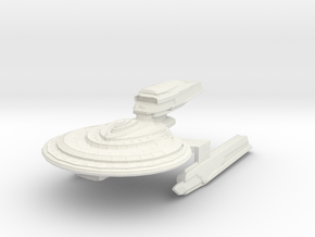 Warrior Class Destroyer in White Natural Versatile Plastic