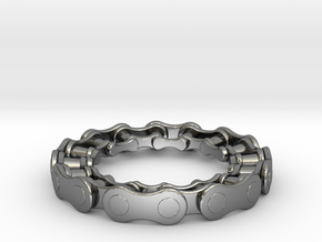 RS CHAIN RING SIZE 8.5 in Polished Silver