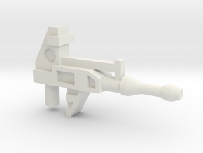Robo Gun PRL in White Natural Versatile Plastic