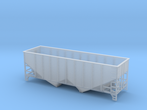 TT Scale 2 Bay Hopper 8 Panel in Smooth Fine Detail Plastic