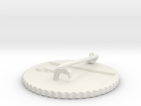 by kelecrea, engraved: ???? in White Natural Versatile Plastic