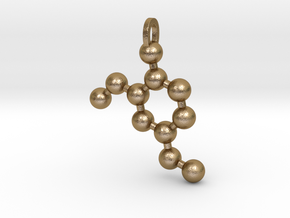 Vanilla Molecule in Polished Gold Steel
