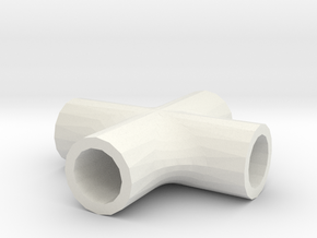 t joint for universal in White Natural Versatile Plastic